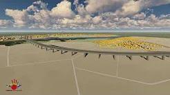 Videosimulation der geplanten Rheinspange 553 (Nordtrasse)